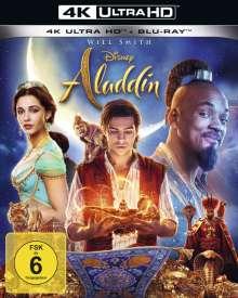 Aladdin (2019) (Ultra HD Blu-ray & Blu-ray), 2 Ultra HD Blu-rays