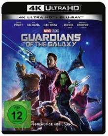 Guardians of the Galaxy (Ultra HD Blu-ray & Blu-ray), 1 Ultra HD Blu-ray und 1 Blu-ray Disc