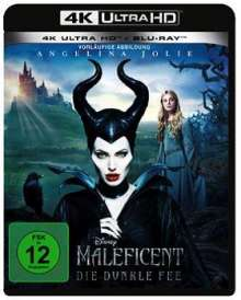 Maleficent - Die dunkle Fee (Ultra HD Blu-ray & Blu-ray), 1 Ultra HD Blu-ray und 1 Blu-ray Disc