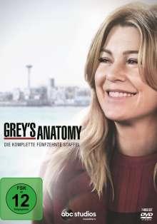 Grey's Anatomy Staffel 15, 7 DVDs