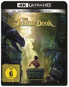 The Jungle Book (2016) (Ultra HD Blu-ray & Blu-ray), 2 Ultra HD Blu-rays