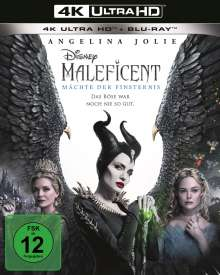 Maleficent 2: Mächte der Finsternis (Ultra HD Blu-ray & Blu-ray), 1 Ultra HD Blu-ray und 1 Blu-ray Disc