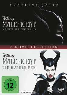 Maleficent - Die dunkle Fee / Mächte der Finsternis, 2 DVDs
