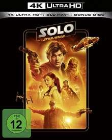 Solo: A Star Wars Story (Ultra HD Blu-ray & Blu-ray), 1 Ultra HD Blu-ray und 2 Blu-ray Discs