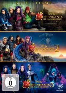 Descendants 1-3, 3 DVDs