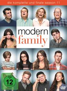 Modern Family Staffel 11 (finale Staffel), 3 DVDs