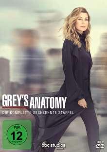 Grey's Anatomy Staffel 16, 6 DVDs