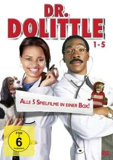Dr. Dolittle 1-5, 5 DVDs