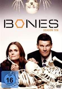 Bones - Die Knochenjägerin Staffel 10, 6 DVDs