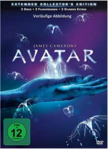 Avatar (Extended Collector's Edition), 3 DVDs