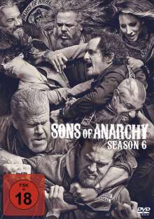 Sons of Anarchy Staffel 6, 4 DVDs