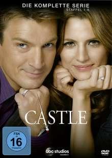 Castle (Komplette Serie), 45 DVDs