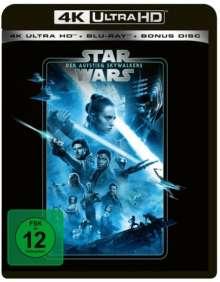 Star Wars 9: Der Aufstieg Skywalkers (Ultra HD Blu-ray & Blu-ray), 1 Ultra HD Blu-ray und 2 Blu-ray Discs