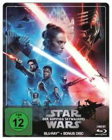Star Wars 9: Der Aufstieg Skywalkers (Blu-ray im Steelbook), 2 Blu-ray Discs