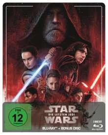 Star Wars 8: Die letzten Jedi (Blu-ray im Steelbook), 2 Blu-ray Discs