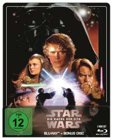 Star Wars Episode 3: Die Rache der Sith (Blu-ray im Steelbook), 2 Blu-ray Discs