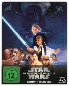 Star Wars Episode 6: Die Rückkehr der Jedi-Ritter (Blu-ray im Steelbook), 2 Blu-ray Discs