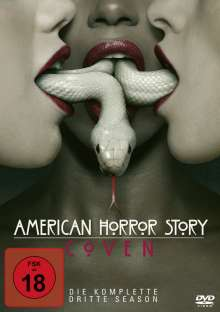 American Horror Story Staffel 3: Coven, 4 DVDs