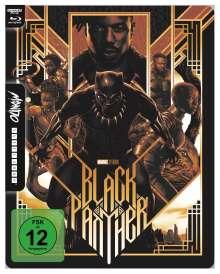 Black Panther (Ultra HD Blu-ray & Blu-ray im Steelbook), 1 Ultra HD Blu-ray und 1 Blu-ray Disc