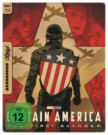 Captain America (Ultra HD Blu-ray & Blu-ray im Steelbook), 1 Ultra HD Blu-ray und 1 Blu-ray Disc