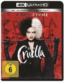 Cruella (Ultra HD Blu-ray & Blu-ray), 1 Ultra HD Blu-ray und 1 Blu-ray Disc