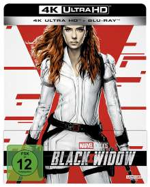 Black Widow (Ultra HD Blu-ray & Blu-ray im Steelbook), 1 Ultra HD Blu-ray und 1 Blu-ray Disc
