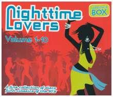 Nighttime Lovers 1-10, 12 CDs