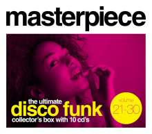 Masterpiece: The Ultimate Disco Funk Collection Vol. 21 - 30 (Box Set), 10 CDs