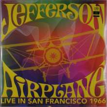 Jefferson Airplane: Live In San Francisco 1966 (180g) (Limited Edition) (Colored Vinyl), 2 LPs