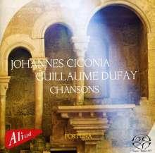 Johannes Ciconia (1370-1412): Chansons, SACD