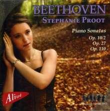Ludwig van Beethoven (1770-1827): Klaviersonaten Nr.6,13,14,31, CD
