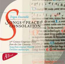 Songs of Pieace & Consolation, CD