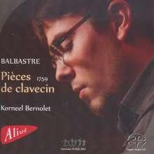 Claude Balbastre (1727-1799): Pieces de Clavecin (Premier Livre 1759), SACD