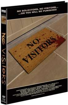No Visitors (Blu-ray & DVD im Mediabook), 1 Blu-ray Disc und 1 DVD