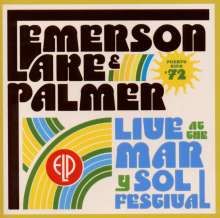 Emerson, Lake & Palmer: Live At Mar Y Sol Festival '72, CD