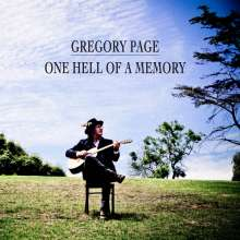 Gregory Page: One Hell Of A Memory, CD