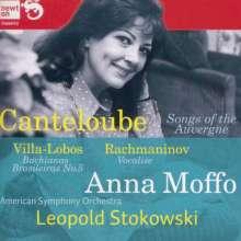 Joseph Canteloube (1879-1957): Lieder der Auvergne, CD