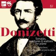 Gaetano Donizetti (1797-1848): Klavierwerke, 2 CDs