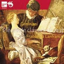 Francesco Geminiani (1687-1762): Pieces de Clavecin, CD