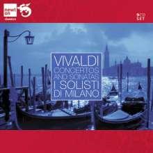 Antonio Vivaldi (1678-1741): Concertos & Sonatas, 9 CDs