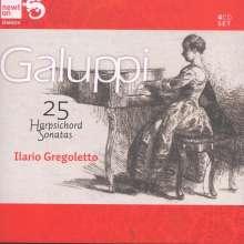 Baldassare Galuppi (1706-1785): Cembalosonaten Nr.1-25, 4 CDs