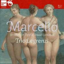 Benedetto Marcello (1686-1739): Flötensonaten op.2 Nr.1-12, 2 CDs