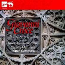 Giovanni Croce (1557-1609): Missa sopra la battaglia, CD