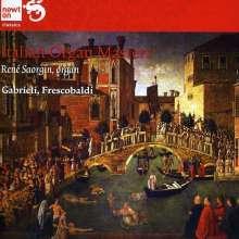 Italian Organ Masters:Gab, CD