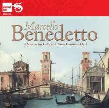 Benedetto Marcello (1686-1739): Cellosonaten Nr.1-6, CD