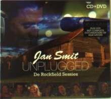 Jan Smit: Unplugged: De Rockfield Sessies (CD + DVD), 1 CD und 1 DVD