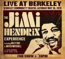 Jimi Hendrix: Live At Berkeley, May 30, 1970 - 2nd Show (180g), 2 LPs