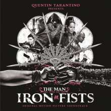 Original Soundtrack (OST): Filmmusik: The Man With The Iron Fists (180g) (Limited-Edition) (Silver Vinyl), 2 LPs