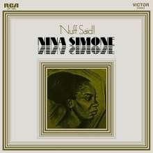 Nina Simone (1933-2003): Nuff Said! (180g), LP