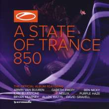 Armin Van Buuren: A State Of Trance 850 (The Official Compilation), 2 CDs